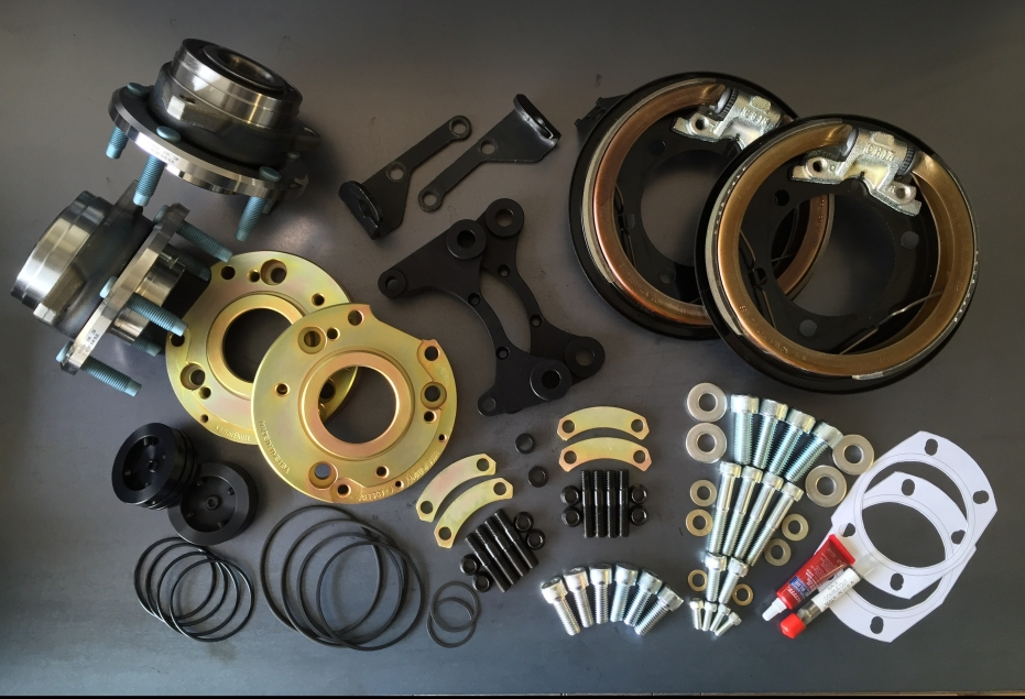 Kit Contents - Part# EFK-BBF-C5/6